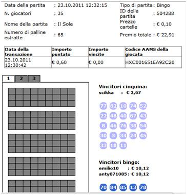 eurobet bingo