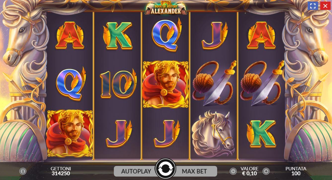 schermata alex